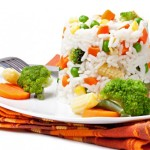zdravý recept na zeleninové rizoto