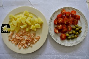 Recept na krevety